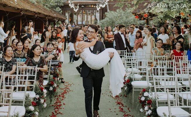 đám cưới tại nhà