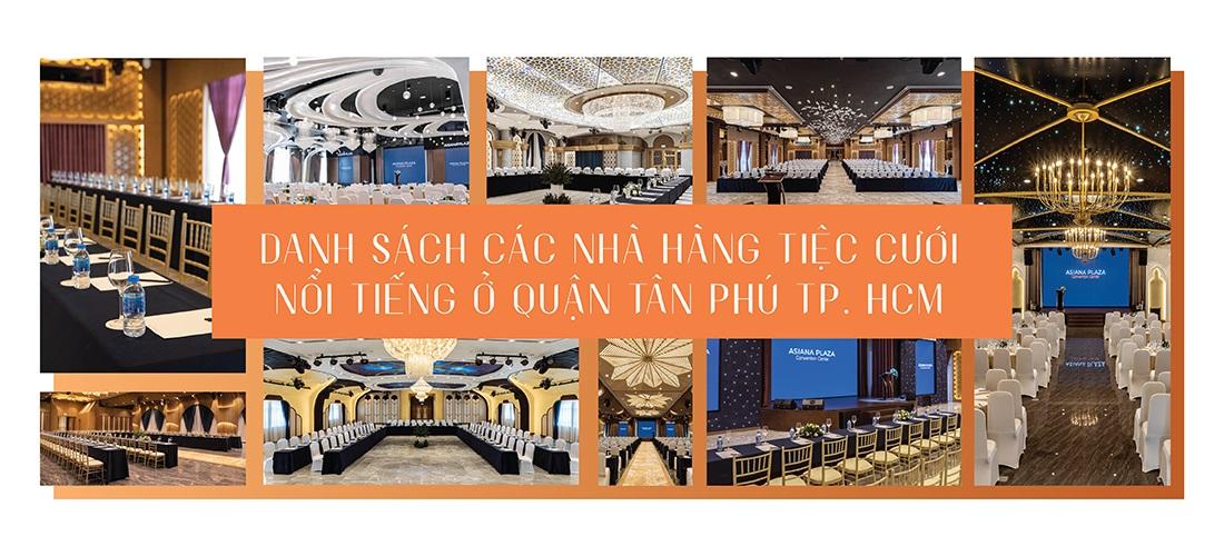 Nhà hàng tiệc cưới Quận Tân Phú