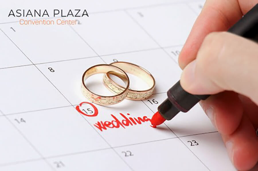 Chọn ngày cưới đẹp và các bước chuẩn bị đám cưới