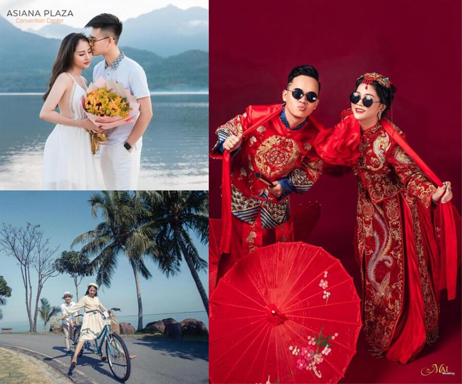 Chọn studio và thống nhất phong cách ảnh cưới