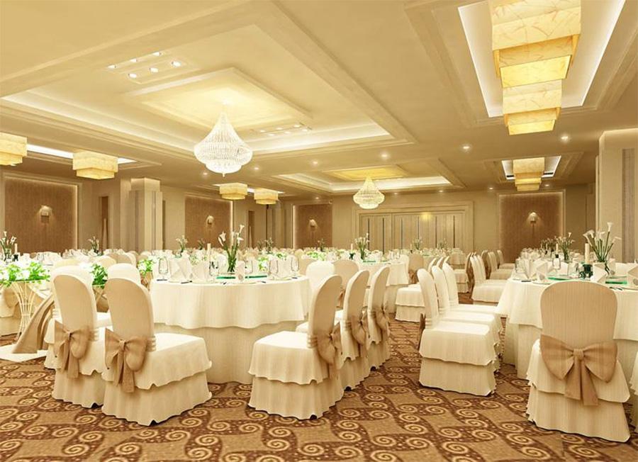 Nhà hàng Glorious quận Tân Phú có không gian vô cùng sang trọng