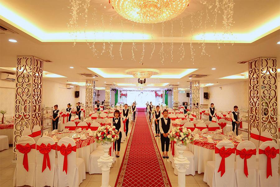 Nhà hàng tiệc cưới quận Tân Phú - MD STAR cao cấp sang trọng