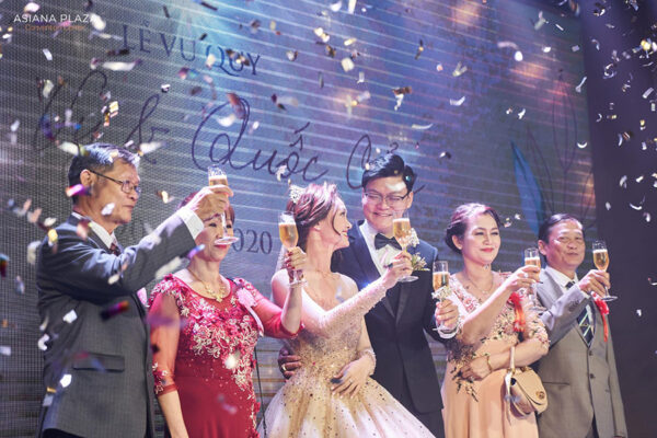Asiana Plaza đồng hành cùng hôn lễ mơ ước