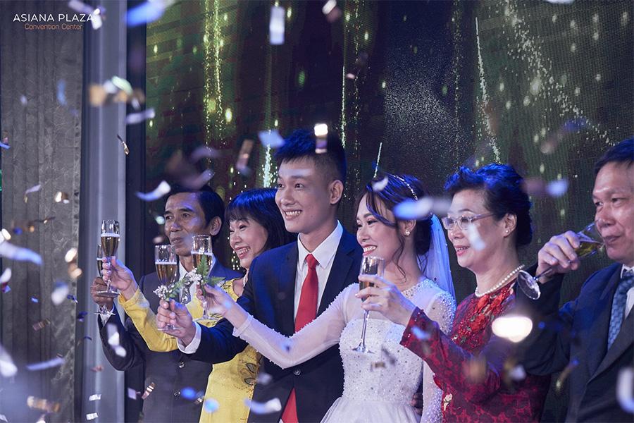 Asiana Plaza sự lựa chọn hợp lý cho tiệc cưới