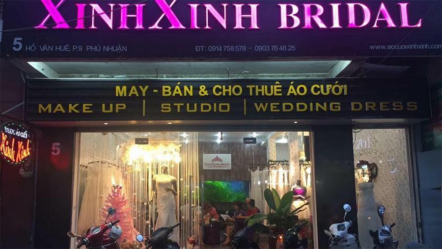Cửa hàng Xinh Xinh Bridal sang trọng