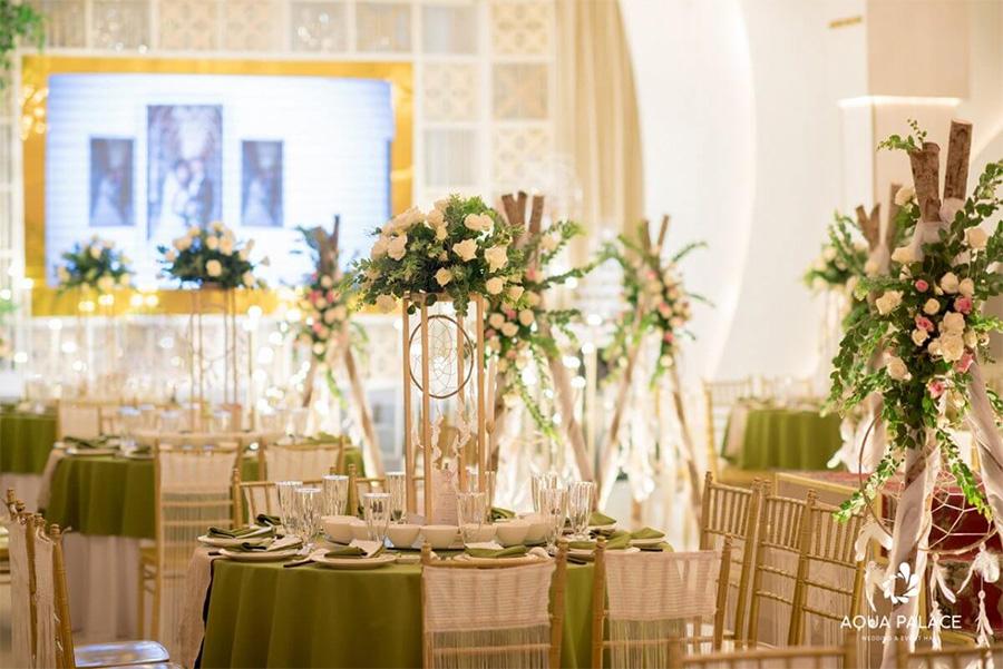 Nhà hàng tiệc cưới quận bình thạnh Aqua Palace