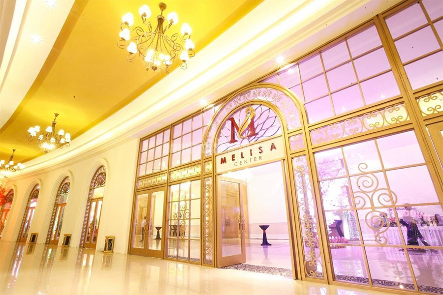 Melisa Center là một trong những nhà hàng tiệc cưới đẹp TPHCM