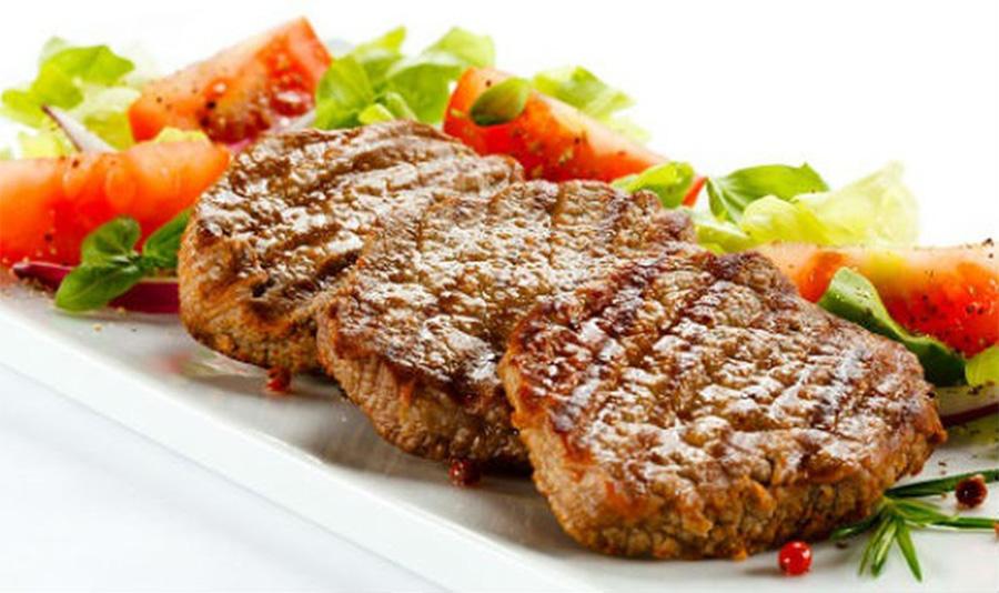 Món ngon từ bò - Bò áp chảo sốt tiêu xanh