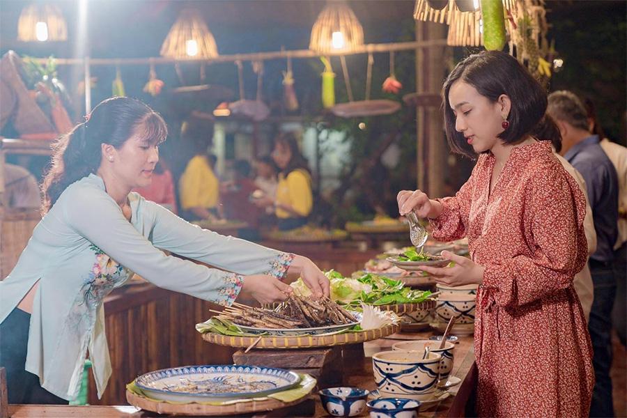 Nhà hàng Bình Quới tại quận Bình Thạnh có ẩm thực đặc sắc