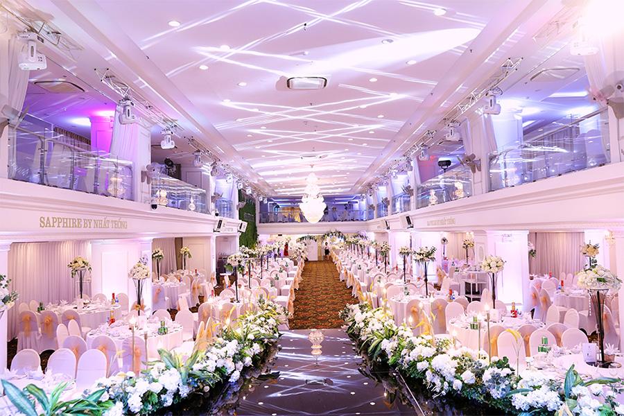 Saphire là nhà hàng tiệc cưới sang trọng quận Bình Thạnh