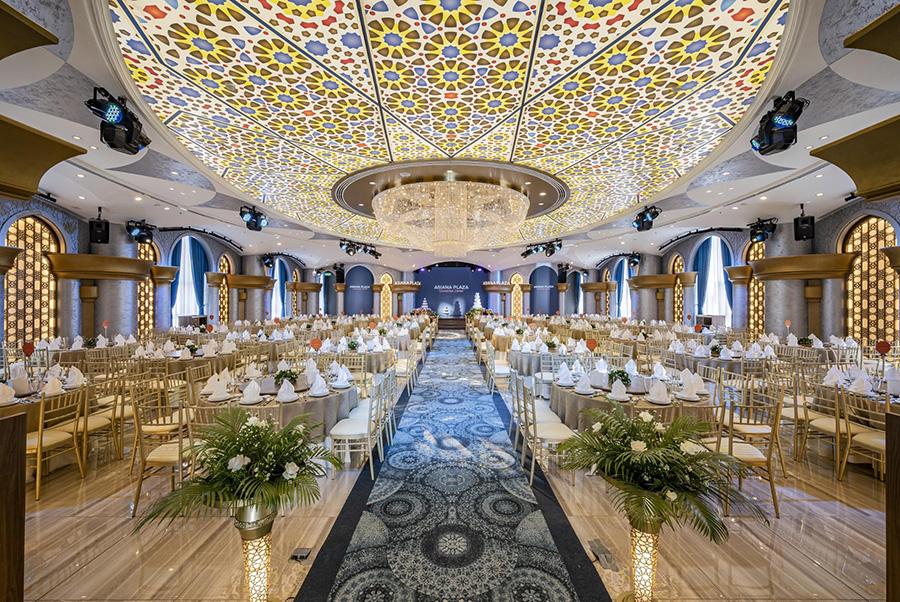 Sảnh Saha với kiến trúc Moorish đặc sắc