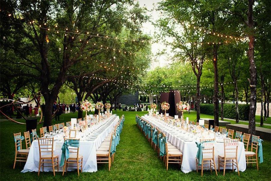 Khu du lịch Văn Thánh quận Bình Thạnh tổ chức tiệc cưới ngoài trời