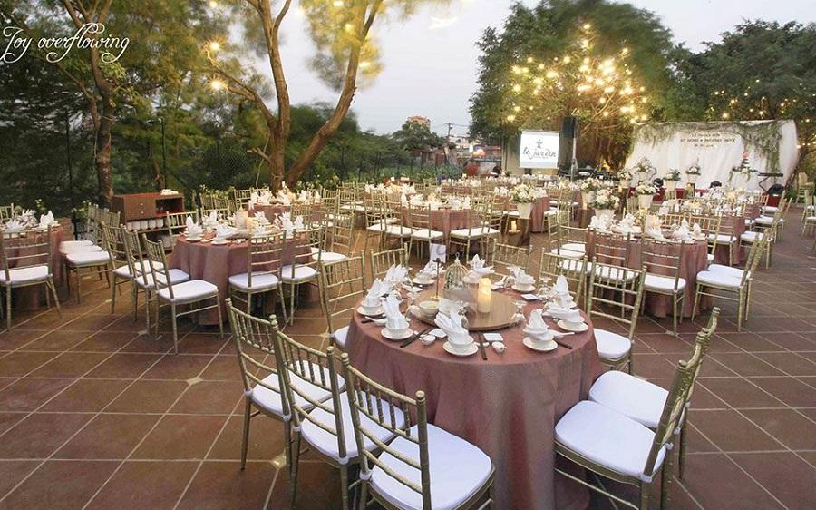 Nhà hàng tiệc cưới Le Jardin Thủ Đức