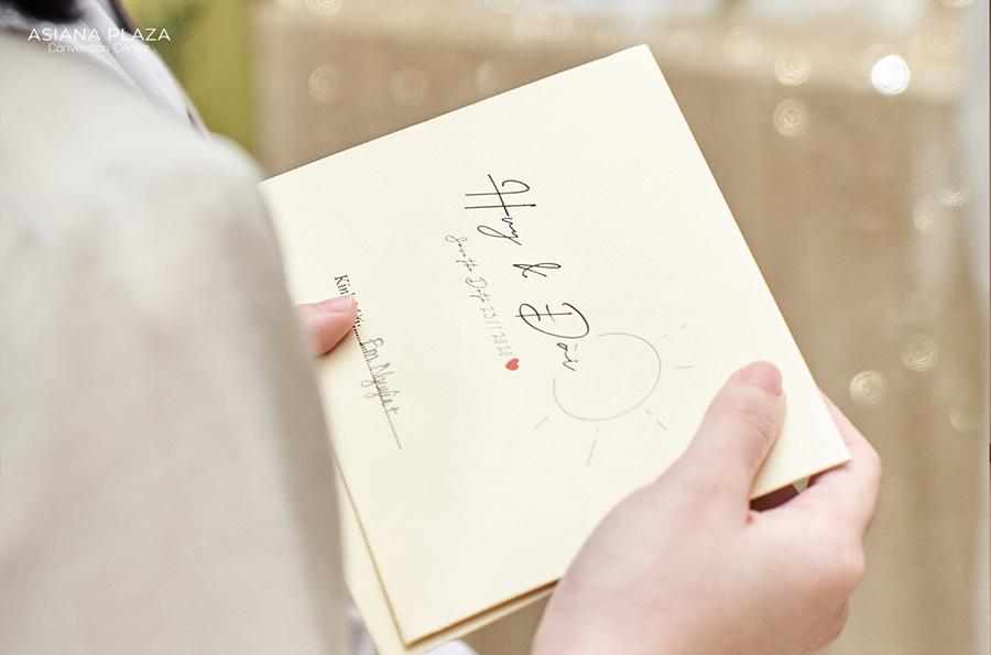 Hướng dẫn cách ghi thiệp cưới