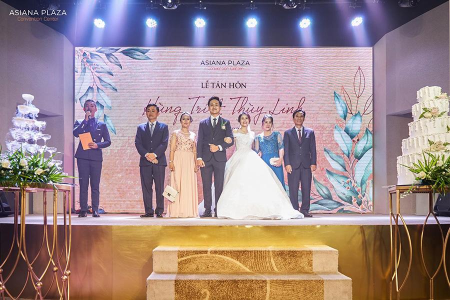 Những lời phát biểu trong tiệc cưới có ý nghĩa rất quan trọng với gia đình cô dâu và chú rể