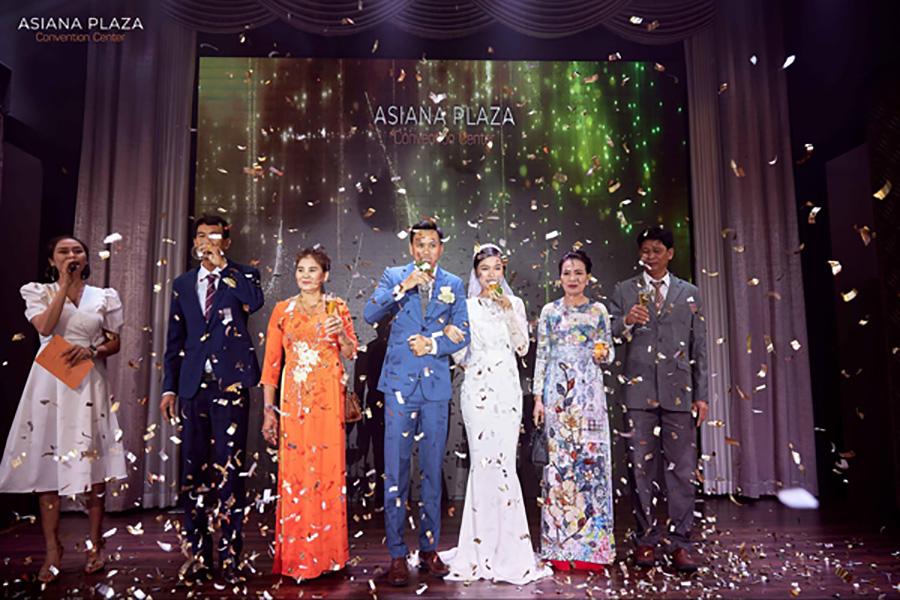 Asiana Plaza - đơn vị tổ chức tiệc cưới chuyên nghiệp