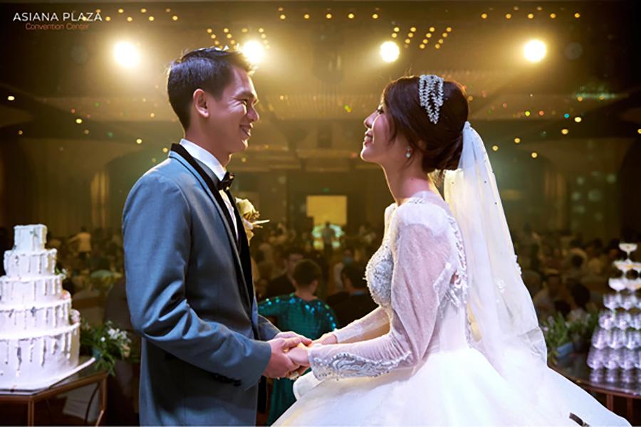 Đám cưới xưa thường được tổ chức khi mùa gặt lúa kết thúc