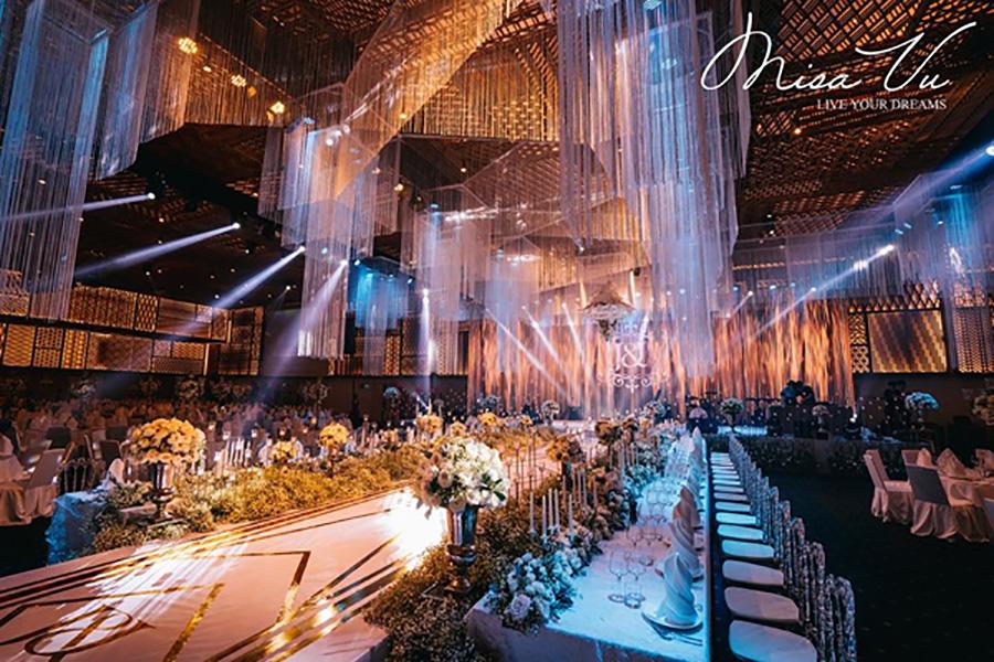 Biến tấu không gian cưới trở nên xa hoa với Misa Vu Luxury Event