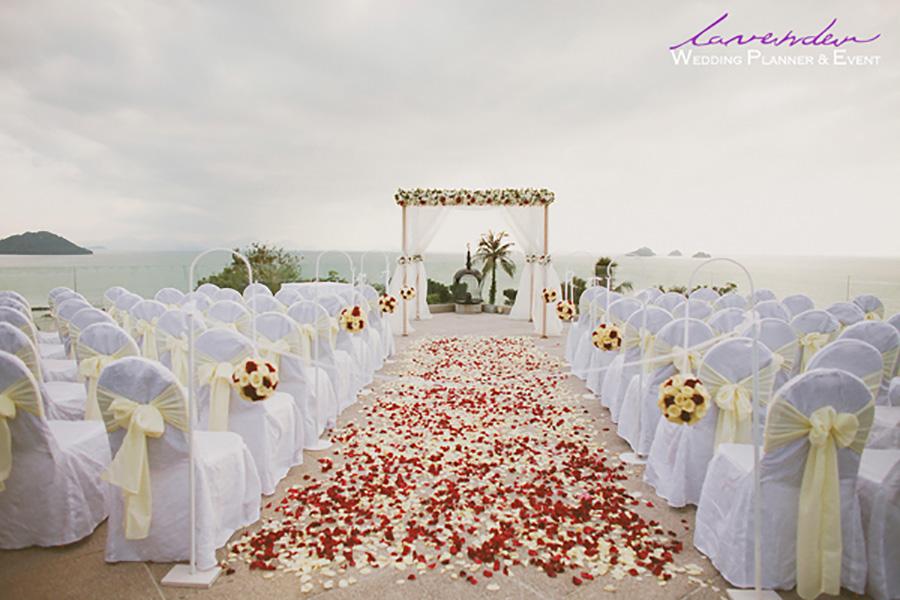 Lavender Wedding & Event chuyên setup tiệc cưới ngoài trời