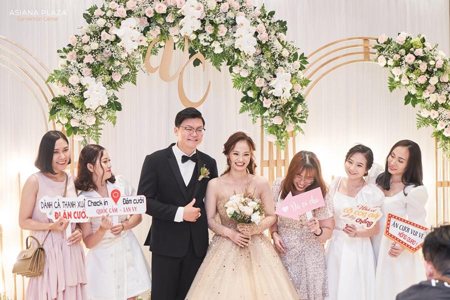 Lễ thành hôn thường được dùng cho nhà trai gốc Bắc hoặc Trung