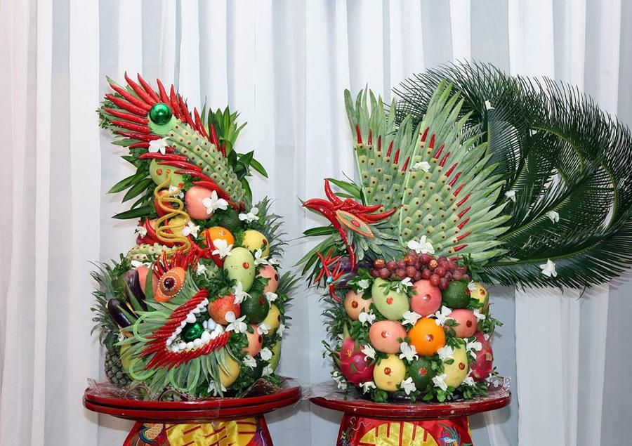 Sính lễ rước dâu / Nguồn ảnh: Internet