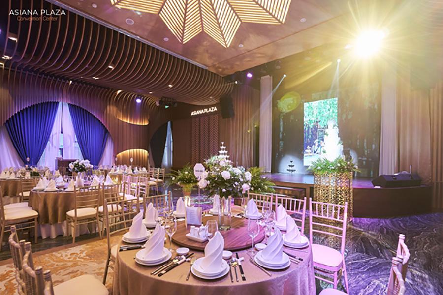 Asiana Plaza - địa điểm tổ chức tiệc cưới chuyên nghiệp tại TP.HCM