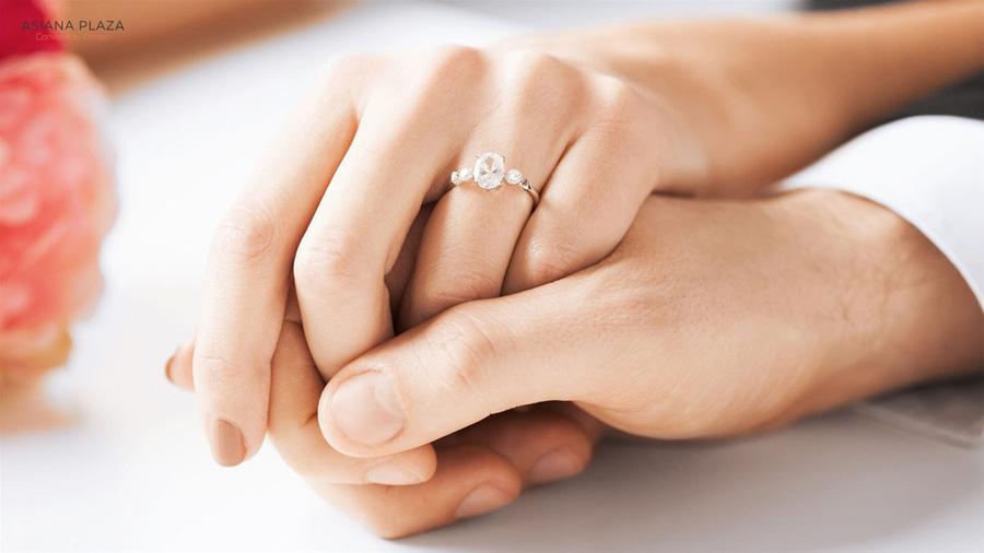 Nhẫn cưới là minh chứng cho tình yêu