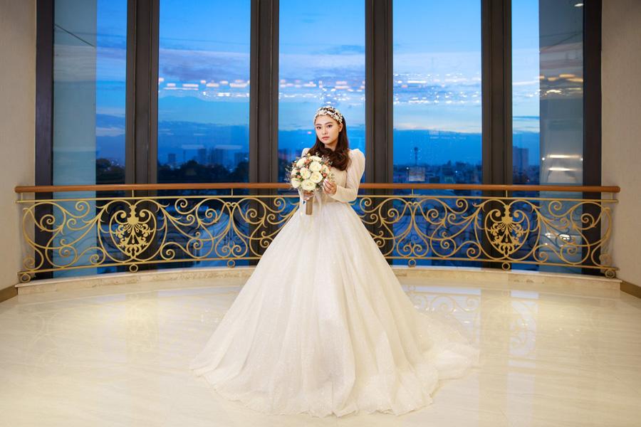 Hoa cưới đẹp và đơn giản cho cô dâu